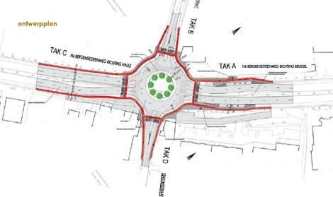 sint-pieters-leeuw_ROTONDE_N6-Lotstraat_ontwerpplan