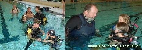 duikschool De Watertrollen en Duivels (foto rechts Marc Geerinckx)