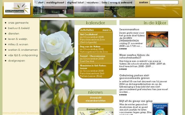 2008-11-15-website_sint-pieters-leeuw_vernieuwd