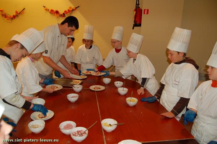 """""""Week van de Smaak"""" - Met de klas op restaurant bij Casy in Vlezenbeek"""