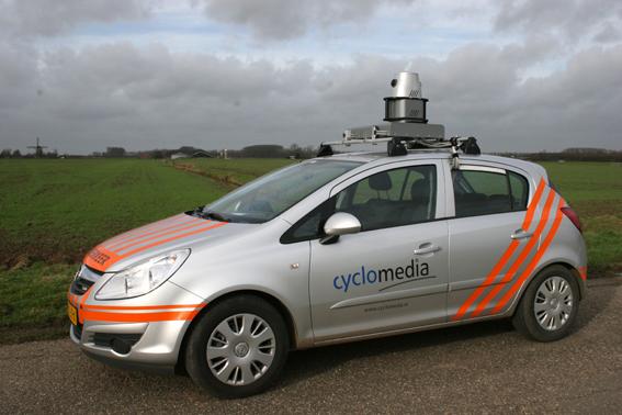 Camerawagen CycloMedia