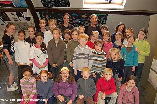 Paasatelier kunstacademie Sint-Pieters-Leeuw