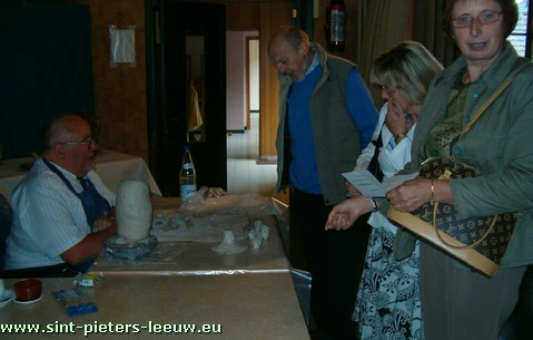 Antoine Boucher - creatief met klei
