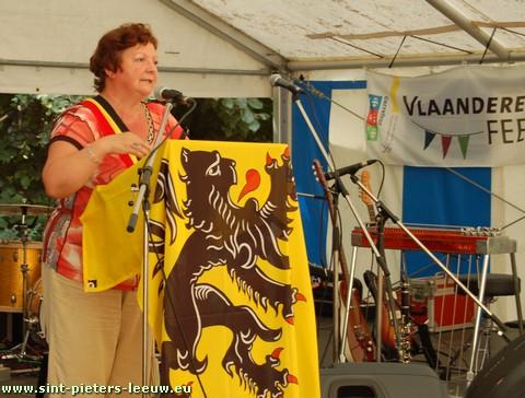 Burgemeester Lieve Vanlinthout