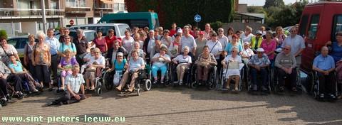 Rolstoelwandeling - Katholieke Vereniging voor Gehandicapten (KVG) van Sint-Pieters-Leeuw