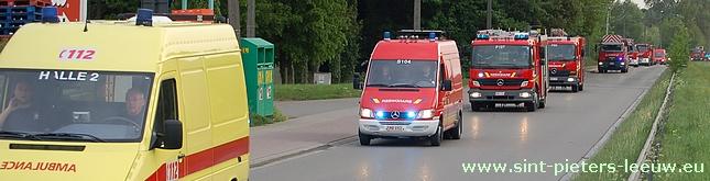 BRANDWEER- ziekenwagen