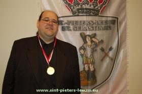 Raf Meert 26 ste Ridder Sint-Sebastiaan