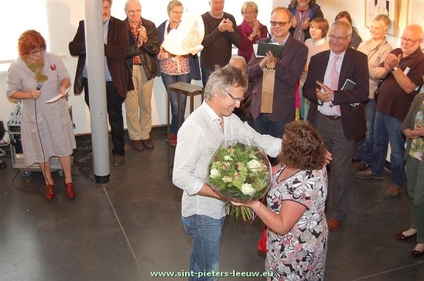 Open Atelier huldigde ook ere-burgemeester Lieve Vanlinthout voor haar jarenlange inzet en steun aan de vereniging.