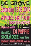 2014-03-15-affiche_1jaar-De-Grove