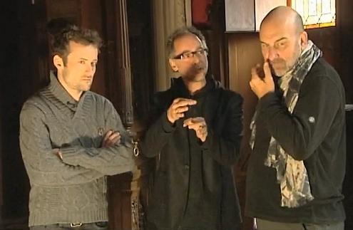 Tim Van Steenbergen - ontwerper, Luc Vanackere - Directeur Kasteel van Gaasbeek en Bill Mitchell Wild Works