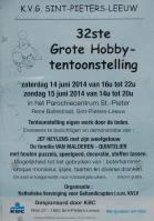 2014-06-15-affiche_32ste KVG_hobby-tentoonstelling