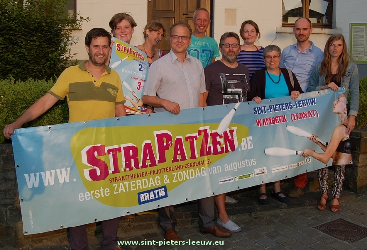 2014-06-25-aankondiging-Strapatzen_Sint-Pieters-Leeuw