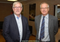 OCMW-voorzitter Paul Defranc en burgemeester Luc Deconinck