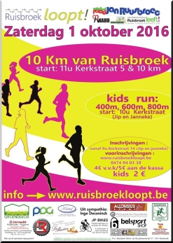 2016-10-01-affiche-10kmvan Ruisbroek