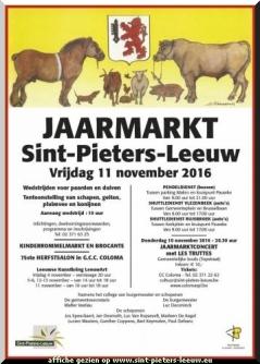 2016-11-11-affiche-jaarmarkt_sint-pieters-leeuw