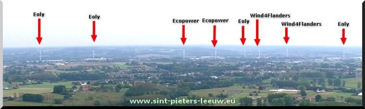 WINDTURBINES_windmolens_Beersel_Sint-Pieters-Leeuw_Halle