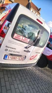 De Post tweetalig - bestelwagens