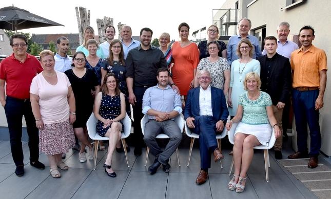 2018-06-06-Groepsfoto_CD&V_Sint-Pieters-Leeuw_gemeenteraadsverkiezingen_2018