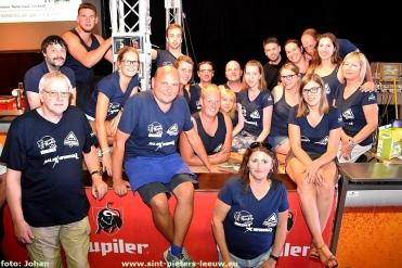 groepsfoto Hoebelfeesten Vlezenbeek