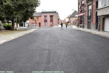 Onderlaag asfalt Kerkstraat