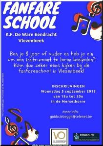 start notenleer K.F. De Ware Eendracht Vlezenbeek