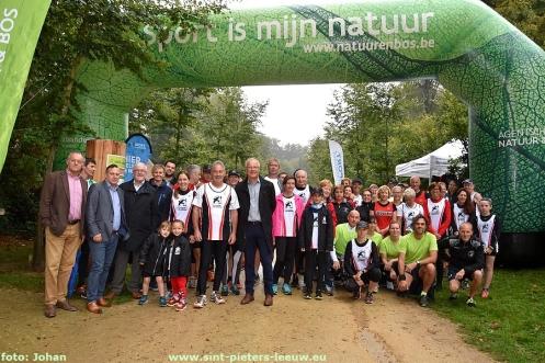 Officiële opening natuurloop Gaasbeek - Groenenberg