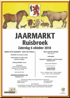 2018-10-06-affiche-jaarmarkt-Ruisbroek-gemeente