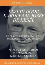 2018-11-21-affiche_lezing-De-Kesel