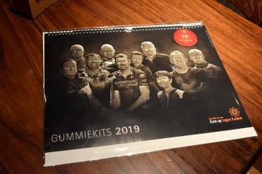 Gummiekits kalender 2019