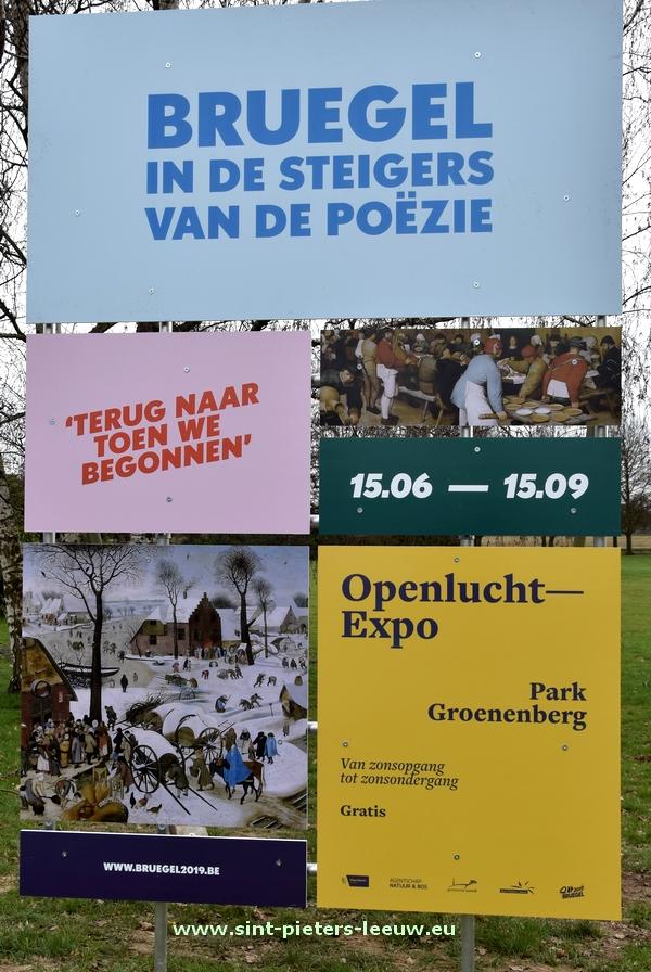 Bruegel in de steigers van de poëzie – Park Groenenberg Vlezenbeek - bruegel2019