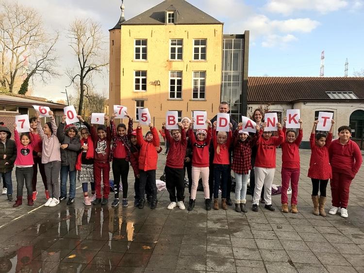 2019-11-29-Rode Neuzen actie VBS Jan Ruusbroec