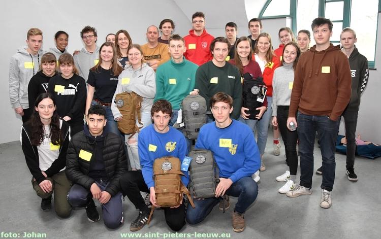 gemotiveerde Leeuwe jeugd leiders en leidsters volgden EHBO-cursus