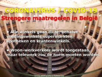 2020-03-17-parlement--Belgie-strengere maatregelen