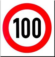 verkeersbord-100
